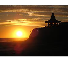 Santa Cruz Beach Sunset #2 Photographic Print