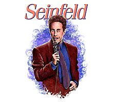 Jerry Seinfeld - TV Comedy Legend Photographic Print