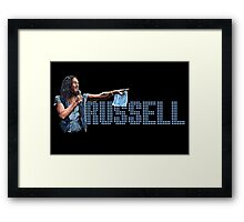 Russell Brand - Comic Timing Framed Print