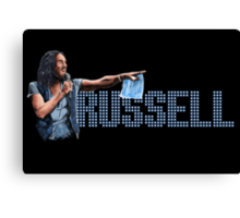Russell Brand - Comic Timing Canvas Print