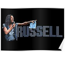 Russell Brand - Comic Timing Poster