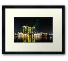 Singapore Marina Bay Sands Framed Print