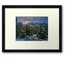 A Place In My Heart ~ Snow ~ Framed Print