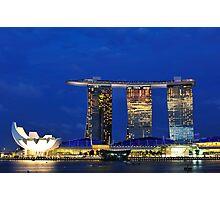 Singapore Marina Bay Sands Photographic Print