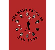 The many faces of Jan Itor Photographic Print