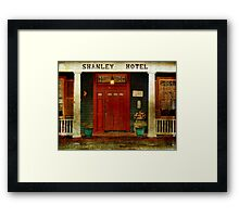 The Shanley Hotel Framed Print