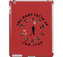 The many faces of Jan Itor iPad Case/Skin
