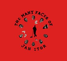 The many faces of Jan Itor Unisex T-Shirt