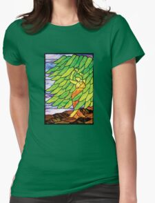 Dancing Willow Womens Fitted T-Shirt