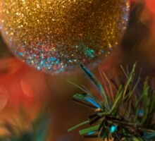 Merry Christmas & Happy New Year Sticker