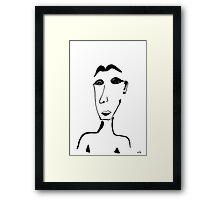 Portrait #02 Framed Print
