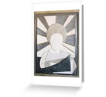 Halo of Monk Greeting Card
