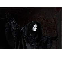 Venetian Carnival: Ghost of Carnival Photographic Print