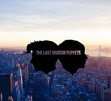 The Last Shadow Puppets - Cityscape phonecase by ArabellaOh
