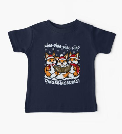 """""""What does the Fox Sing"""" (T-shirts) Kids Clothes"""