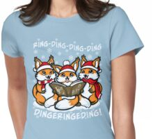 """What does the Fox Sing"" (T-shirts) Womens Fitted T-Shirt"
