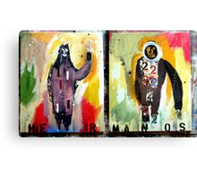 HERMANOS 1&2  (brothers 1&2) Canvas Print