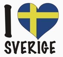 i love sweden T-Shirt