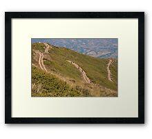Bikers. Framed Print