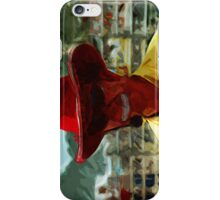 Rodeo Clown  Abstract Impressionism iPhone Case/Skin