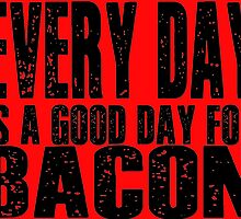 Bacon Lovers Typography by geekchicprints