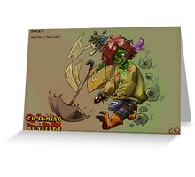 Charming Monsters Greeting Card