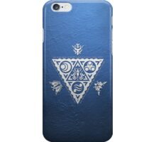 Waker of Winds Tri-Force White iPhone Case/Skin