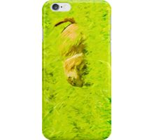 Prairie Dog Abstract Impressionism iPhone Case/Skin