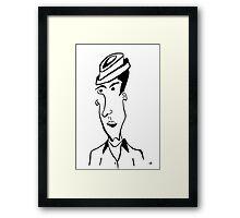 Portrait #03 Framed Print