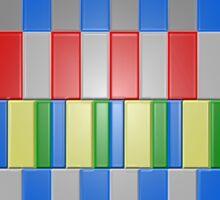 Colorful Blocks Sticker