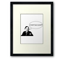 Mickey - Rocky  Framed Print