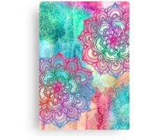 Round and Round the Rainbow Canvas Print