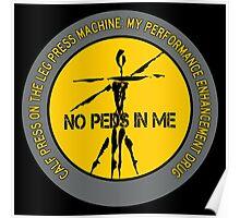 Calf Press On The Leg Press Machine - My Performance Enhancement Drug Poster