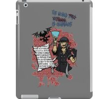 Sho Quotes iPad Case/Skin