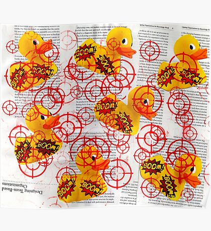 Target The Rubber Duck Poster
