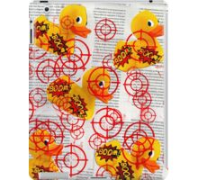 Target The Rubber Duck iPad Case/Skin