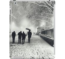 Winter Night - New York City iPad Case/Skin