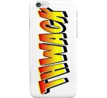 Thwack! Comic Book Sound Effect iPhone Case/Skin