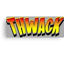 Thwack! Comic Book Sound Effect Canvas Print