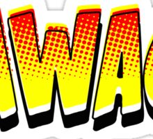 Thwack! Comic Book Sound Effect Sticker