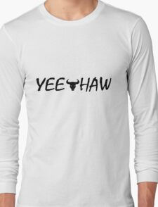 "LIMITED EDITION ""Chris Kambouris"" YEE HAW Merch! Long Sleeve T-Shirt"