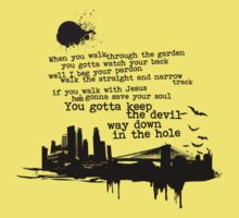 """Way Down In The Hole"" - The Wire - Dark Kids Clothes"