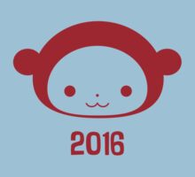Year of the Monkey 2016 One Piece - Short Sleeve