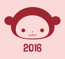 Year of the Monkey 2016 One Piece - Long Sleeve
