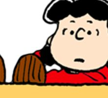 Peanuts - The doctor is in  Sticker