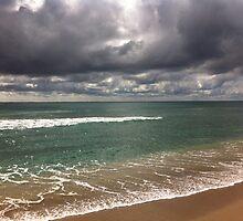 beach storm 5 by Sari Shein