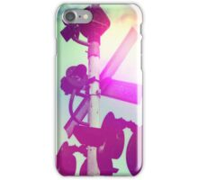 Hipster Train Crossing iPhone Case/Skin