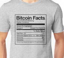 Bitcoin Facts Unisex T-Shirt