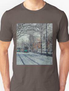 Never ending winter. Brookline, MA T-Shirt