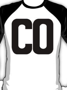 Colorado CO Black Ink T-Shirt